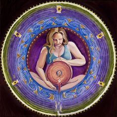 Women peparing for birth can use a labyrinth as a guide, medtative tool and even as a pain coping practice during their labor.