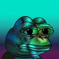 Rare plutonium Pepe comes once in every 690000000000420 memes repost for best luck