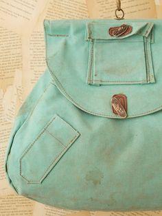 teal vintage bag - free people 77949bbbc8cc4