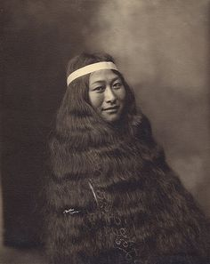 Inuit Woman from Nome, Alaska, c. 1906