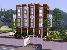 fairycake89@MTS - Modern Singleton (20x20) #Sims3
