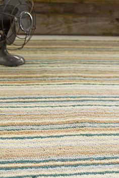 Monty Wool Hooked Rug by Dash and Albert available at Surroundings in Mattapoisett, Ma