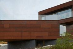 Image result for plywood cladding on steel