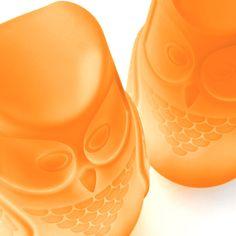 Designerska lampa | Bubo | pomarańczowy > Makeithome.pl - Makeithome.pl | Loving Creative Solutions