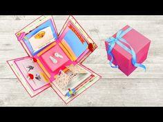 DIY Exploding Box for Beginners - YouTube