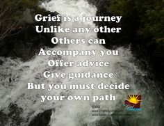 In grief you must decide your own path | The Grief Toolbox