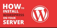 learn how to install wordpress on your server step by step with screen shot and…