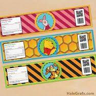 Afbeeldingsresultaat voor winnie the pooh printable cupcake