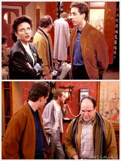 (The Chinese Restaurant) - GEORGE: I have to get in touch with Tatiana! And look at his little outfit. It's all so coordinated, the way his socks matching to his shirt. I really hate this guy.
