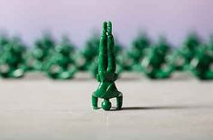 The Green Army Soldiers From Your Childhood Now Come In Amazing Yoga Poses