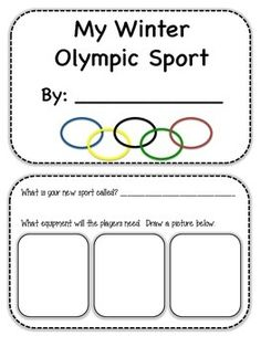 New winter sport - Winter Olympics