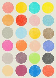Color Play - Art Print by Garima Dhawan/Society6