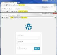 Resultado de imagen de wordpress login