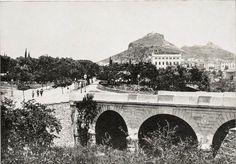 Ilissos bridge in front of Panathinaikon stadium in 1893 Attica Athens, Athens Greece, Old Photos, Vintage Photos, Bauhaus, Greece Pictures, Old Greek, Greek History, Historical Photos