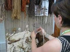 weaving my next tapestry - YouTube