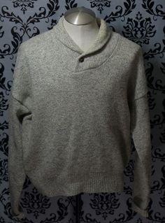 c92ead1bb106 M Original Regular Size Wool Vintage Sweaters for Men