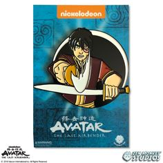 Zen Monkey: Zuko - Avatar's Day Of Black Sun - Avatar: The Last Airbender Pin Best Cartoons Ever, Star Wars Boba Fett, Pin And Patches, Hard Enamel Pin, Cute Pins, Avatar The Last Airbender, Star Wars Art, Pin Badges, Pin Collection