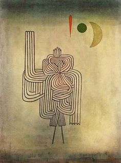 Paul Klee - Departure of the Ghost -1931