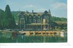 The Lakeside Hotel, Newby Bridge, From Lake Windermere
