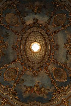 al-ancien-regime: Teatro Municipale, Piacenza, Italië Baroque Architecture, Beautiful Architecture, Architecture Details, Renaissance Art, Ceiling Design, Roof Design, Wall Design, Belle Photo, Old World