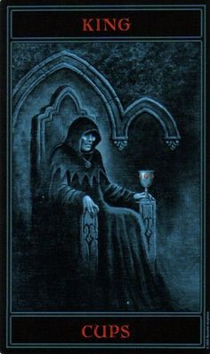 The Gothic Tarot: King of Cups