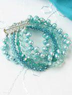 Rachael's Wedding Bracelet - Beading Daily-free pattern