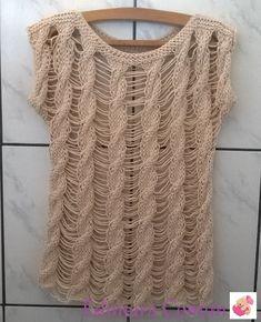 Oie... Hoje trago para vocês a blusa Valdelice, criação da maravilhosa Vitória Quintal . Eu queria uma blusa que ficasse bem aberta e nave...