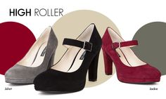 Love those Mary-Jane Jackie Heels with Platform for added comfort. Perfect for work or after work drinks.