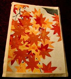 Original Authentic Vintage Japanese Woodblock by ArtDelightful
