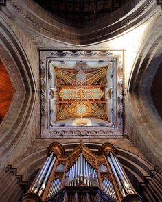 The ceiling of St David's Cathedral Tower, Pembrokeshire, Wales | Flickr - Photo Sharing!