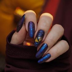 Cat Eye Nails, Claw Nails, Dragon Nails, Dragon Eye, Bubble Nails, Witchy Nails, Gothic Nails, Pretty Nail Art, Halloween Nails
