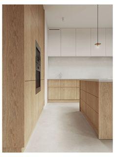 Kitchen Room Design, Modern Kitchen Design, Home Decor Kitchen, Kitchen Living, Interior Design Kitchen, Home Kitchens, Studio Kitchen, Minimalist Kitchen, Minimalist Interior