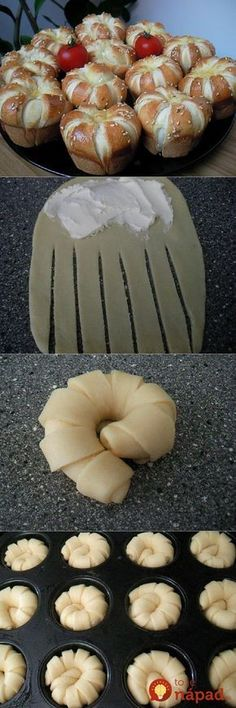 Ideas for bread design ideas Bread Shaping, Creative Food, Baked Goods, Food To Make, Food And Drink, Cooking Recipes, Favorite Recipes, Yummy Food, Design Ideas