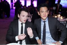 John Cho and Anton Yelchin! My god, how am I supposed to NOT ship these two?!?