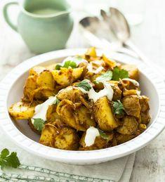 Indický bramborový salát, Foto: isifa.com