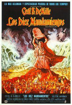 Los Diez Mandamientos / The Ten Commandments (1956) Cecil B. DeMille