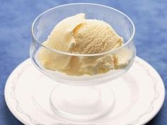 Almond Milk Ice Cream This is a great idea for a sweet dessert with only a few grams of fat and a small amount ...