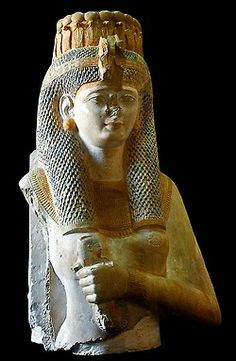 Fragmented statue of Princess Meritamen, daughter and Great Royal Wife of Ramesses the Great
