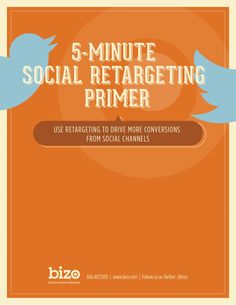 5 Minute Social Media Retargeting Primer posted by Scott Valentine via Slideshare