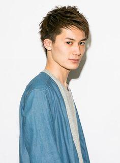 自然な束感で2ブロック爽やかショート 【GARDEN harajuku】 http://beautynavi.woman.excite.co.jp/salon/20783 ≪ #menshair #menshairstyle・メンズ・ヘアスタイル・髪形・髪型≫
