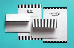 Free, printable stationery and envelope templates