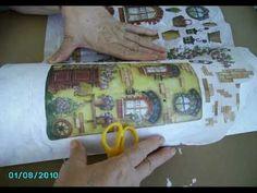 Cómo decorar tejas (1) - YouTube