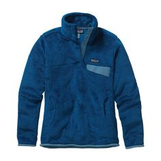 Patagonia Women\'s Re-Tool Snap-T\u00AE Fleece Pullover - Bandana Blue - Channel Blue X-Dye BEX