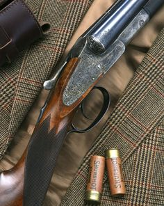 Gentleman Tweed with an antique rifle Quail Hunting, Deer Hunting Tips, Pheasant Hunting, Hunting Rifles, Turkey Hunting, Revolver, Tweed, Double Barrel, Man Up