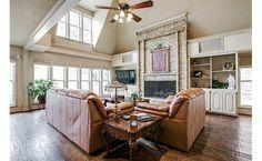 A grand living room
