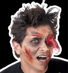 Bloody Eyeball ZOMBIE EYE PATCH Halloween Costume Prop Accessory - http://www.horror-hall.com/Bloody-Eyeball-ZOMBIE-EYE-PATCH-Halloween-Costume-Prop-Accessory-HH-SU-13965.htm