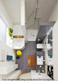 Compact bathroom