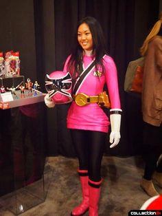 POWER RANGERS SAMURAI Pink ranger mia   power rangers samurai