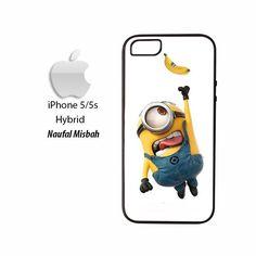 Hanging Stuart Minion iPhone 5/5s HYBRID Case Cover