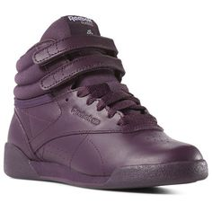 04974adece71 Reebok Shoes Unisex Freestyle Hi in Urban Violet White Peach Twist Size  11.5 - Lifestyle Shoes